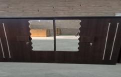 Sokeat Dark 75x64 4door Wardrobes 4 Door Wardrobe, Size/Dimension: 75x64 Inches