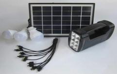 Solar LED Home Lighting System, Operating Voltage: 12 V