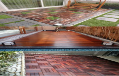 Square Brown Natural Etc. IPE Wood Cladding and Decking
