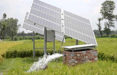 Ss AC 20 HP Solar Water Pump System, For Agriculture