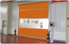 Standard Mild Steel Gka High Speed Doors, For Industrial
