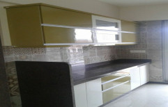 Straight Acrylic Modular Kitchen, Warranty: 5-10 years