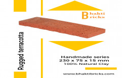 Thin Cladding Brick Tiles Rustic Finish.Natural Clay, Thickness: 10 - 12 Mm