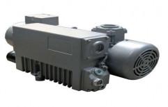 Three Phase Single Stage Rotary Vane Vacuum Pump, 1 Hp