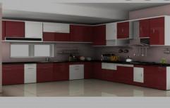 Universal Wooden Modular Kitchen Cabinets