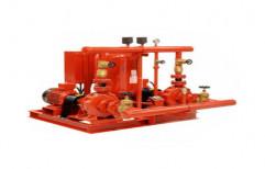 Upto 220 M Red Kirloskar Fire Fighting Engine Driven Pump