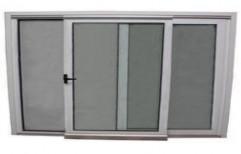 UPVC Sliding Windows, Glass Thickness: 2mm