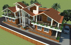 Villas & Bungalow Architecture Design in India
