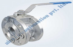 Wafer Type Ball Valve, Size: 1 To 4 Inch