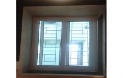 UPVC French Window, Glass Thickness: 8 Mm