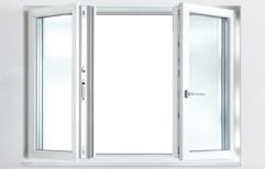 White Casement Window, Size/dimension: 6x4 Inch