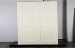 White Painted Frp Moulded Door, Size/dimension: 7 X 4 Feet
