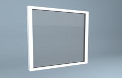 White UPVC Fixed Window
