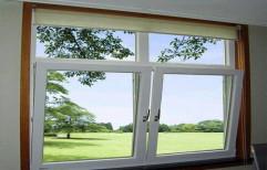 White UPVC Stylish Window