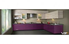 Wooden Italian Modular Kitchen, Warranty: 5-10 Years