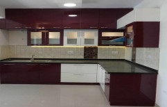 Wooden Modular Kitchen, Warranty: 5-10 Years, Noida
