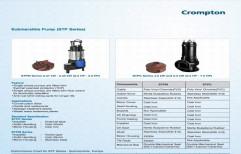 10-20 CROMPTON Submersible Sewage Pump, 180Lpm