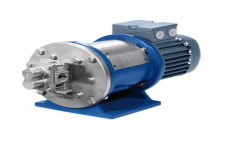 5-10 m Mild Steel Chemical Dosing Single Phase Gear Pump, 5 Hp