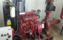 70 Mys 54 Bph Sevicing Diesel Engine Fire Pump, For Industrial, Max Flow Rate: 97 M3