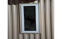Absolute White Rectangular UPVC Casement Window, Glass Thickness: 5 To 20mm