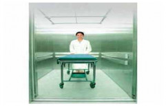 Automatic Stainless Steel Hospital Elevator, Capacity: 1000-1500 Kg