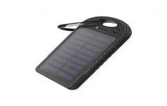 Black Portable Solar Battery Charger, Capacity: 1000 mAh