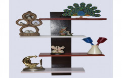 Brown Wooden Gift Items Showpiece Rack, Size/Dimension: 2 Feet