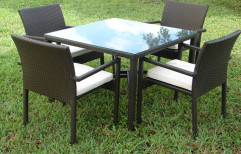 Brown Wooden Outdoor Furniture
