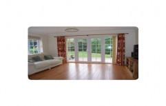 Casement Toughened Glass Living Room UPVC Door, 10 to 40mm, Exterior