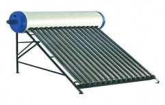 Evacuated Tube Collector (ETC) GI Domestic Solar Water Heater, Capacity: 150 lpd