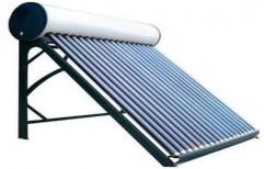 Galvanized Iron ETC-Solar Water Heater, Capacity: 100 To 500 LPD