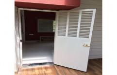 Galvanized Steel Stylish Safety Door