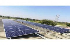 Grid Tie 50 Kw Solar Power Plants, Capacity: 100