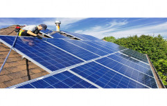 Grid Tie Solar Panel Installation Service, For Industrial, Size/Area: >1000 Square Feet