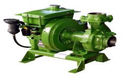 Hamraj Air Cooled Pumpset, Rotary Pump, Electric