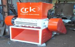 HDPE PLASTIC SCRAP GRINDING MACHINE, Blade Size: 18 Inch Blades