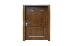 Hinged Brown WPC Decorative Door, Thickness: 10-20 Mm