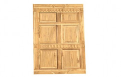 Hinged Teak Wooden Doors