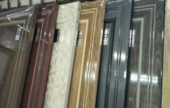 hinjed Glossy PVC Flush Door, For Toilet, Interior