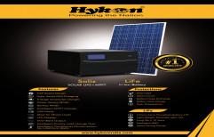 Hykon Solar Inverter Soliz 1000 With Lithium Battery