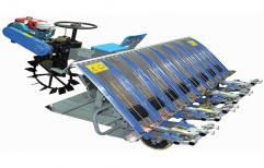 KISANKRAFT Riding Type PADDY TRANSPLANTER, For Agriculture & Farming