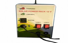 LED 12 V Solar Power Pack, For Residential, Capacity: 25watt