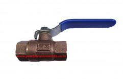 Medium Pressure NPT Gunmetal Ball Valve, For Water