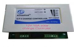 Metal Body Grey AB Atharva Solar Charger Controller, 12 Volt