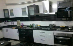 Metal PVC Modular Kitchen