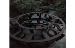 Mild Steel Agricultural Cage Wheel, Model Name/Number: Kishan Shakti, Size: 46 Inch