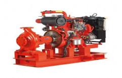 Mild Steel Automatic Fire Fighting DG Pump Set