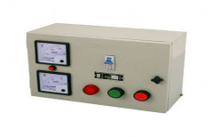 Mild Steel Submersible Pump Control Panel, For Industrial, 220 V