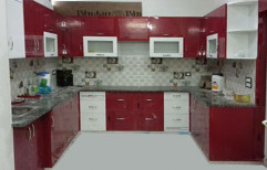 Modern U Shape Modular Kitchen