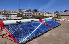 Mounting Structure Grid Tie 1000 LPD SOLAR SYSTEM FOR HOTELS - AADHI SOLAR, For INDUSTRIALS